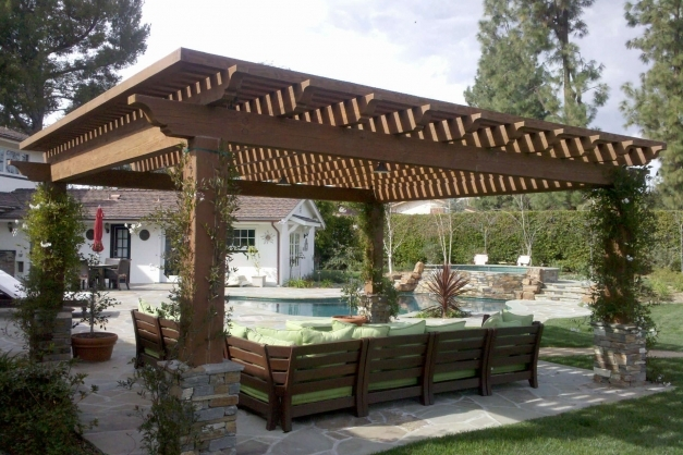 Stylish Pergola Roof Ideas What You Need To Know Shadefx Canopies Pergola Roof Ideas Picture