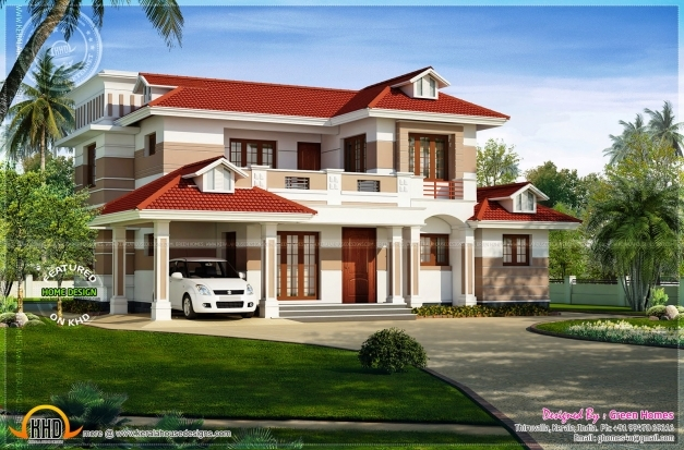 Stylish Simple Home Design Exterior Modern House Exterior Wall Colours That Match With A Tile Red Roof Photos