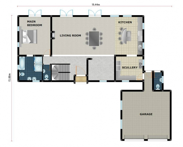Stylish South African Small Home Plans Homes Zone South African Home Plans Pictures