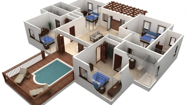Amazing Autocad 2017 1 St Floor Drawing 2d House Plan Part 3 Youtube 2d House Plans In Autocad Photos