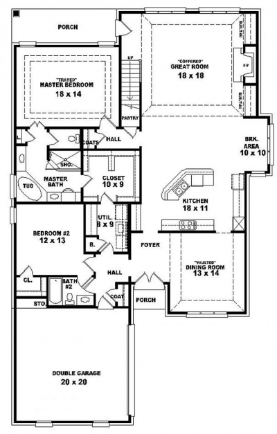 Amazing Bedroom House Plans Story Four Plan Single 4 Best Charvoo 3 Bed Room Home Pplan Single Floor Photo