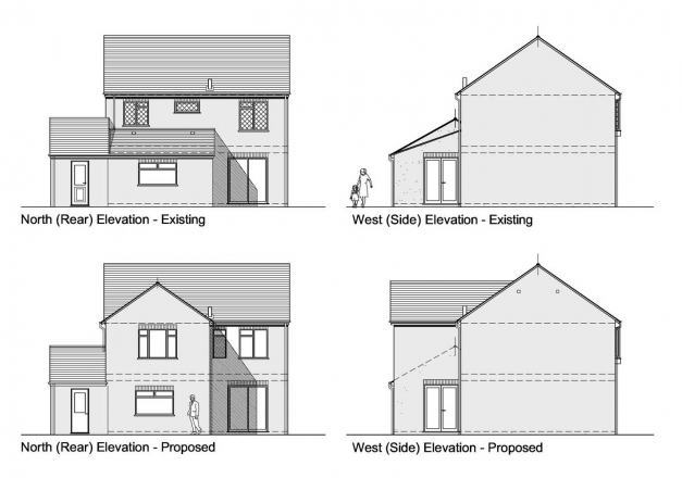 Amazing Buildings Plan Section Elevation Modern House Building And Kevrandoz Plan Elevation And Section Drawings Pic
