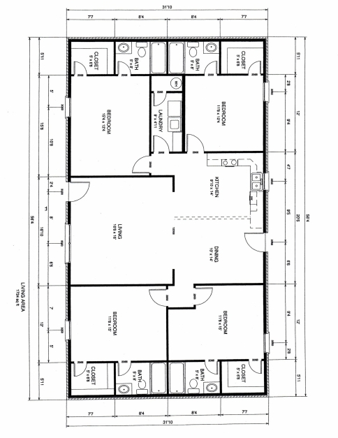 Amazing Design Of Four Bedroom Plan With Inspiration Picture A Mariapngt Four Bed Room Plan Photo