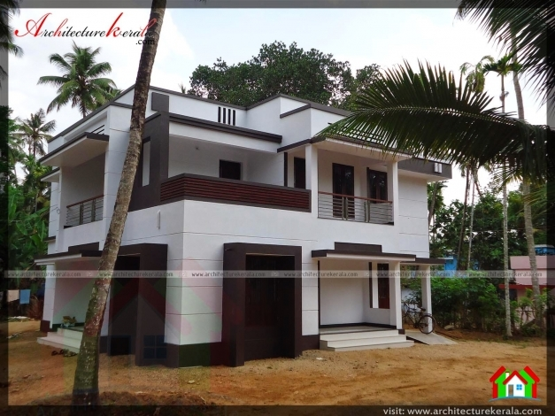Amazing Photo Of An Contemporary Style House Architecture Kerala Contemporary House In Kerala Pic