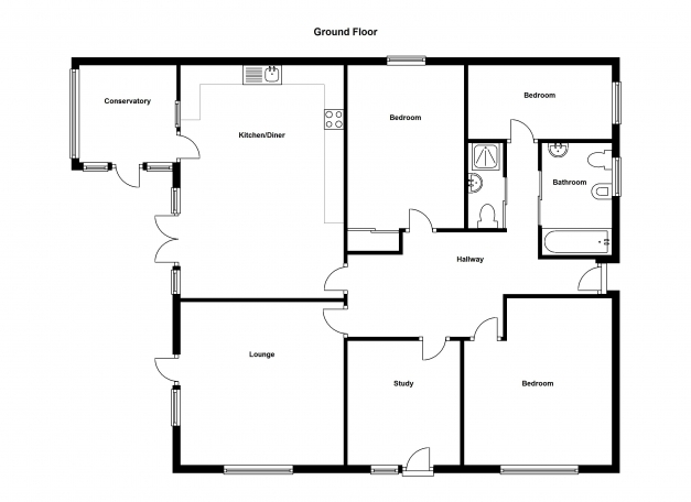 Amazing Simple Four Bedroom Flat Bungalow Search Results Small Woodworking Four Bedroom Bungalow House Plans Image