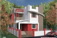 Amazing South Indian Villa In 1375 Sqfeet Kerala Home Design 750 Sq Ft House Front Design Pics