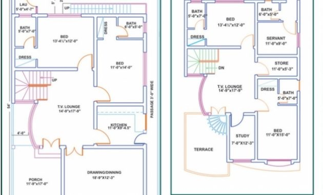 Awesome 7 Marla House Plans Civil Engineers Pk 7 Marla House Map Design Pic