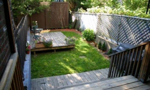 Awesome Before Long And Narrow Small Yards Big Designs Diy Modern Garden Small Backyard Designs Pictures Photos