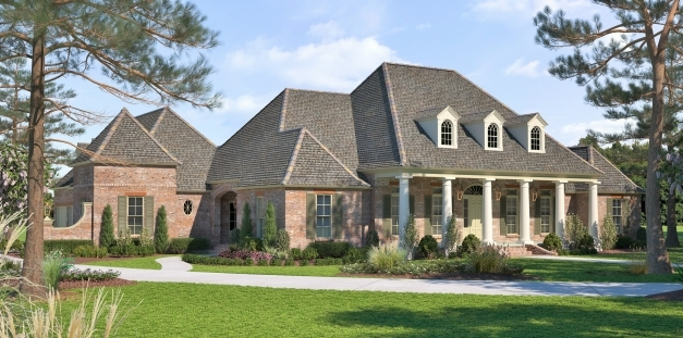 Awesome French Acadian House Plans Acadiana Home Design House Plans French Acadian House Plans Pictures