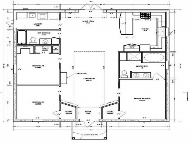 Awesome Small Modern House Plans Under 1000 Sq Ft Modern House Small 1000 Sq Ft House Plans Photo