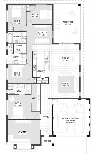 Best Apartments 4 Bedroom House Plans Bedroom House Plans Home Limpopo House Plan Images