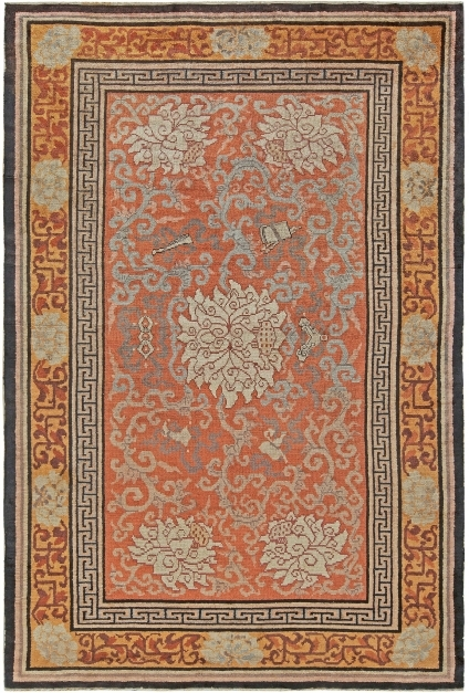 Best Chinese Rugs From Rug Collection Doris Leslie Blau Vintage Bloom Rug Gold Pictures