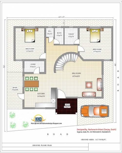 Best India Home Design With House Plans 3200 Sqft Home Appliance Home Design Plans With Photos In India Image