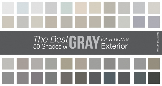 Best The Best Shades Of Gray Paint For A Home Exterior Davinci Roofscapes Shades Of Grey Paint Color Photo
