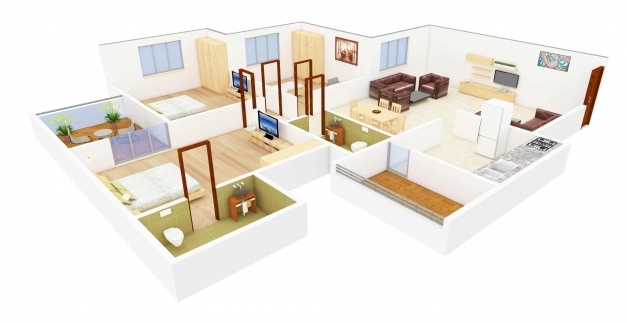 Delightful Home Design Plans Indian Style 3d Homesavings Simple Home Design 3d House Plans Indian Style Photos