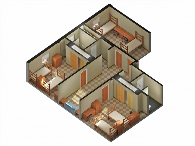 Delightful Home Design Plans Indian Style 3d House Plans Indian Style Image