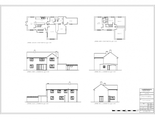 Delightful House Plan Section Elevation Modern Robie Plans Sections Plan Section And Elevation Of Residential Houses Pic