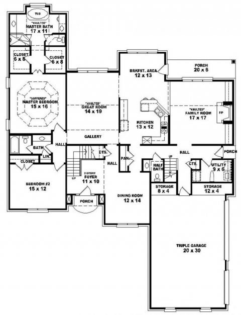 Fantastic Inspiring 5 Bedroom 3 Story House Plans Contemporary Best Idea 5 Bedrooms Storey House Plans Photos