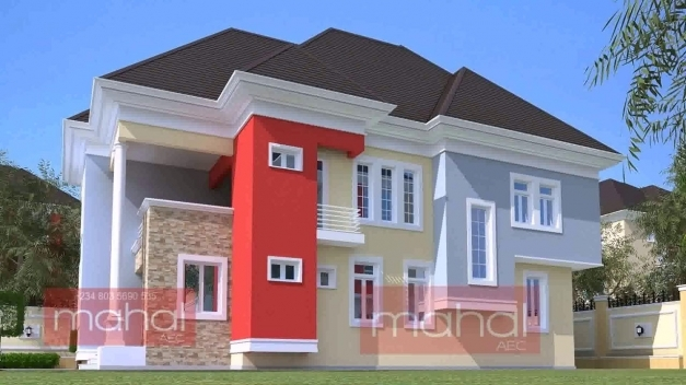 Fantastic Modern Duplex House Plans In Nigeria Youtube The Latest Houses In Nigeria Photo