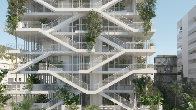 Fascinating French Architects Unveil Plans For Bio Climatic Inside Out Architectural Design Of Residential Building Image