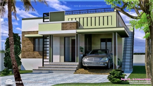 Fascinating Indian Style Small House Front Elevation Youtube Front Elevation Of Homes Images
