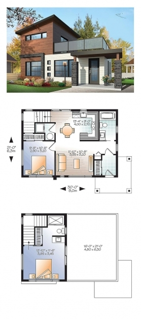 Gorgeous 9 Genius Small Vacation House Plans Of Wonderful Modern Cabin Plan Small Modern Cabin Plans Images