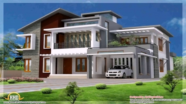 Gorgeous Contemporary Style House In Kerala Youtube Contemporary House In Kerala Photos