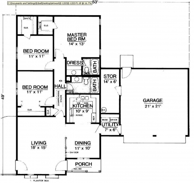 Incredible 4 Bedroom Bungalow House Plans Pdf Savae 4 Bedroom Bungalow House Floor Plans Images