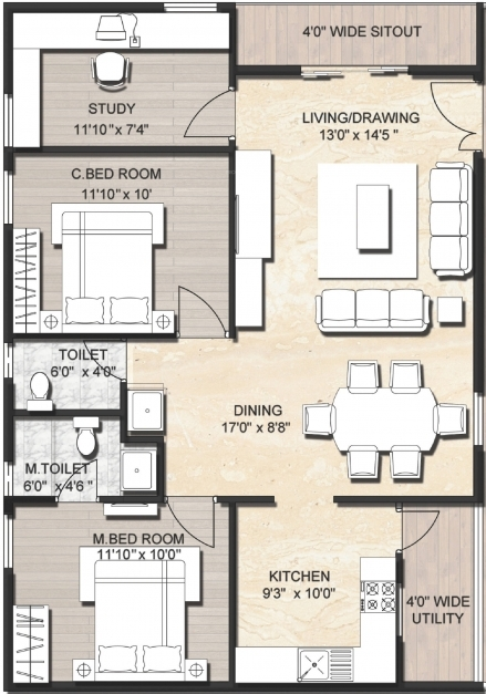 Incredible Amusing 400 Sq Ft Indian House Plans Gallery Best Idea Home Ground Indian House Plans For 1200 Sq Ft Pictures