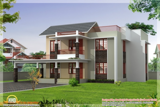 Incredible Four India Style House Designs Kerala Home Design And Indian Indian Small Styles House Pictures