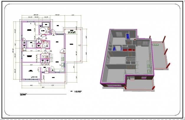 Inspiring Convert Hand Drawn Floor Plans To Cadpdf Architectural Drafting Autocad 2d Plan With Dimensions Pics