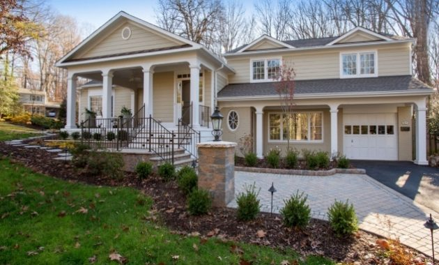 Inspiring Exterior Front Porch Designs With Car Port Glamorous Front Porch Bilevel Front Porch Designs Image