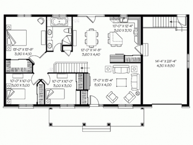 Inspiring Homey Inspiration 4 Bedroom Bungalow House Plans Philippines 9 4 Bedroom Bungalow House Floor Plans Pic