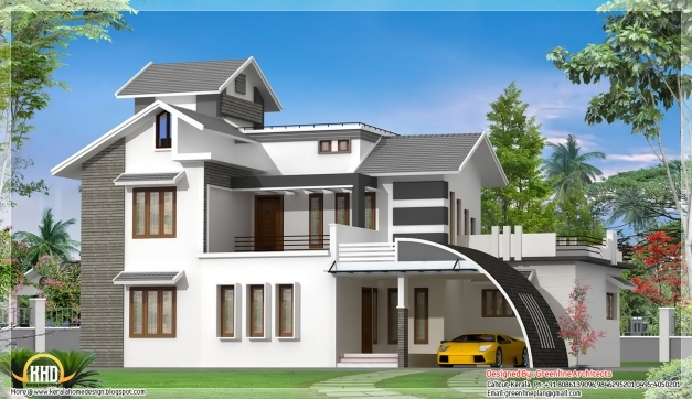 Marvelous Front Design Of Small House Kerala Wall Flodingresort Com A Home Indian Small Styles House Images