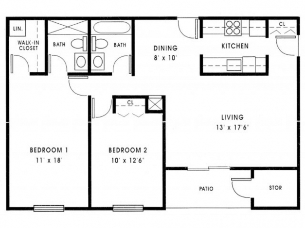 Marvelous House Plan 1000 Sq Ft House Plans 2 Bedroom Nrtradiant 1000 Indian Small House Plans Under 1000 Sq Ft Pics