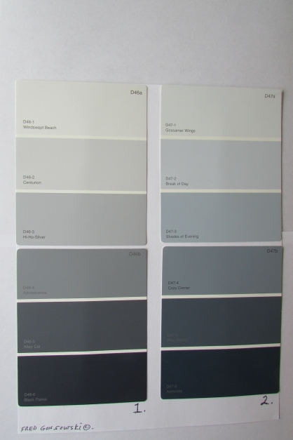 Marvelous How To Pick The Perfect Gray Paint A Popular Color Choice Of The Shades Of Grey Paint Color Pics