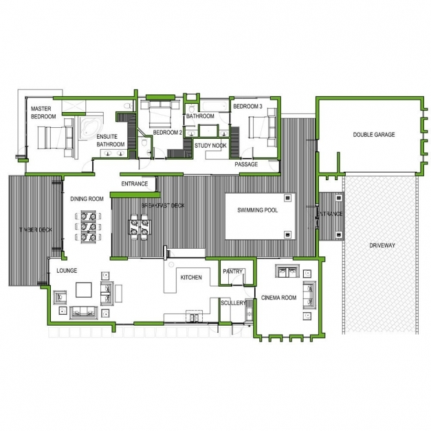 Outstanding 4 Bedroom House Plans In Limpopo Nice Home Zone Limpopo House Plan Image