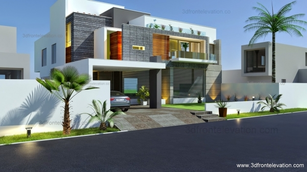 Outstanding Appealing Modern Front Elevation Of House 57 With Additional Small Modern House Elevation Photo