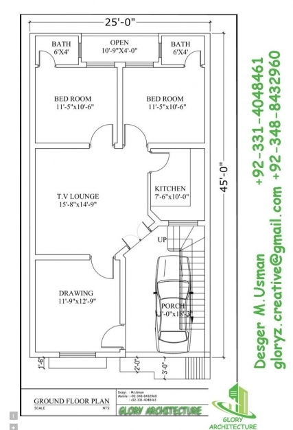 Outstanding Breathtaking House Plan Elevation Drawings 87 In Home Design Ideas 25*52 House Plan Pictures