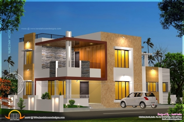 Outstanding Floor Plan And Elevation Of Modern House Kerala Home Design Ground Floor Plan And Elevation Image