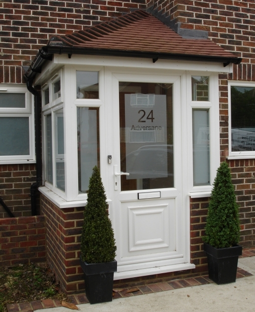 Outstanding Front Porch Small Enclosed Front Porch Design With Single White Small Enclosed Front Porch Ideas Picture