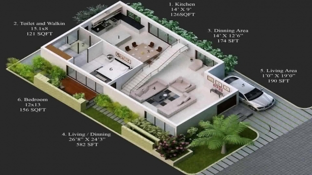 Outstanding House Plan For 15 X 30 Site Youtube House Images 15by 45 Image