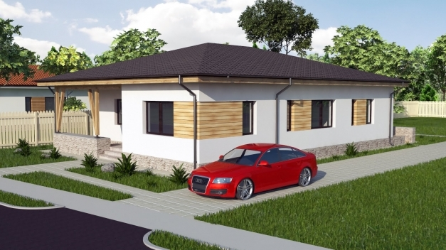 Outstanding Modern Bungalow House Design 3 Bedroom House Model A30 Youtube Three Bedroom Modern House Photo
