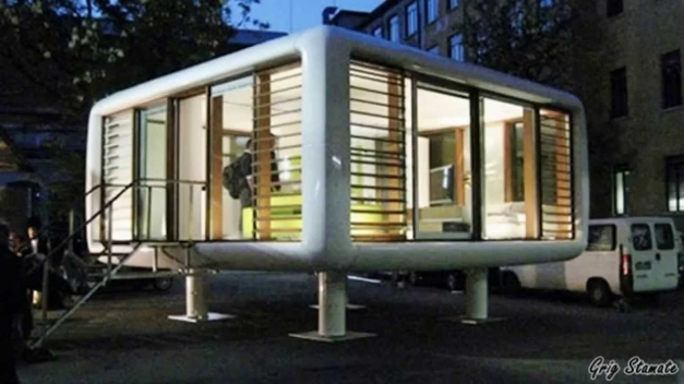 Outstanding Tiny And Modern Prefabricated Homes Youtube Small Prefab Homes Pics