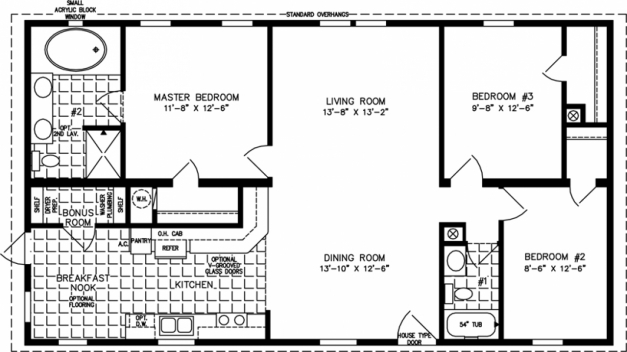 Remarkable 1000 Square Feet Open Floor Plan Home Deco Plans Foot House 3 1000 Sq Ft House Plans Pic