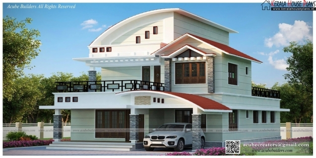 Remarkable Modern Flat Roof Villa In 2900 Sq Feet Kerala Home Modern House Pretty Kerala Home Design Pictures