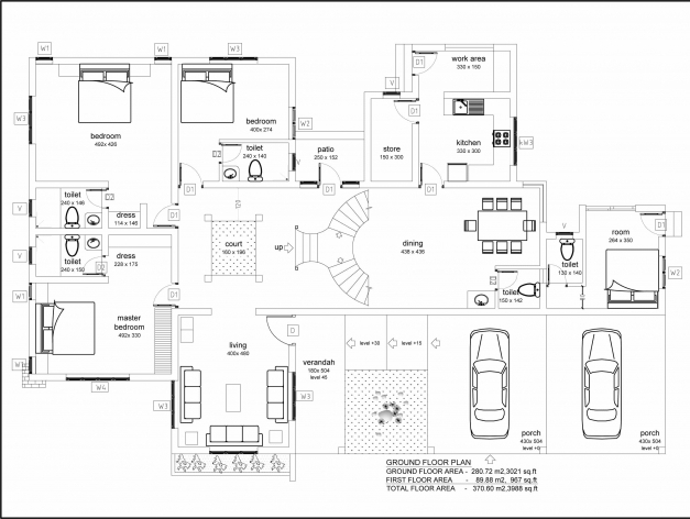 Remarkable Very Modern Beautiful Kerala House With Plans Kerala House Plan Images