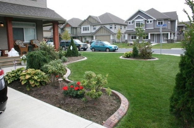Stunning Awesome Home Front Yard Design Ideas Interior Ispirations Small Front Yard Decorating Ideas Pics