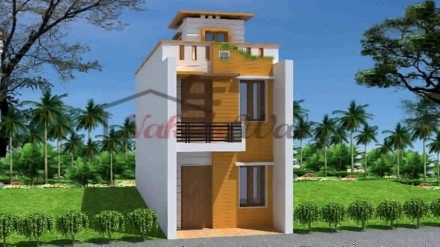 Stunning Indian House Design Front Elevation Youtube House Images 15by 45 Photos