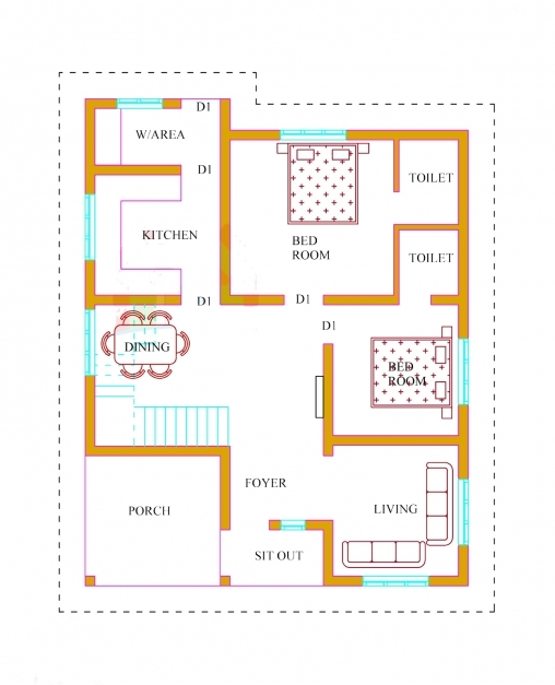 Stunning Kerala House Plans With Estimate Lakhs Ideas Home Designs For 1500 Kerala House Plan Photos
